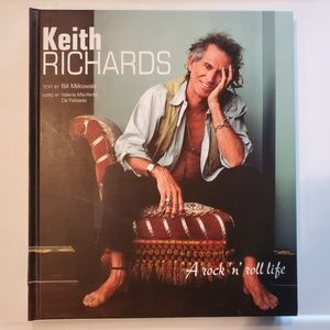 Keith Richards A Rock 'n' Roll Life Hardcover Book